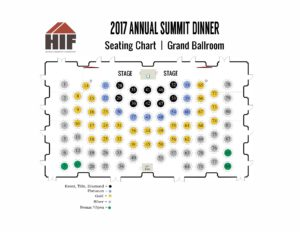 2017 Summit Seating Chart