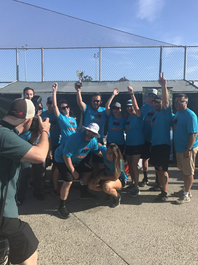 Champion title goes to Team TABU