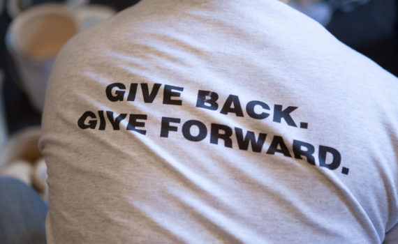 Give Back, Give Forward