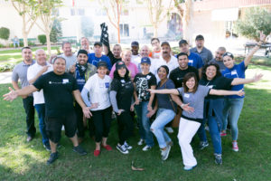 AVB Volunteers at Valley Village